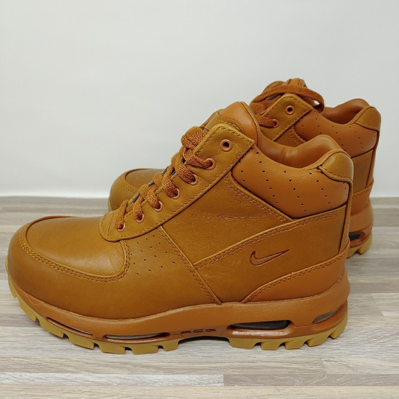 Nike AIR MAX GOADOME Boots TawnyGum Light Brown NWT